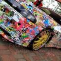 Racing Sticker boom