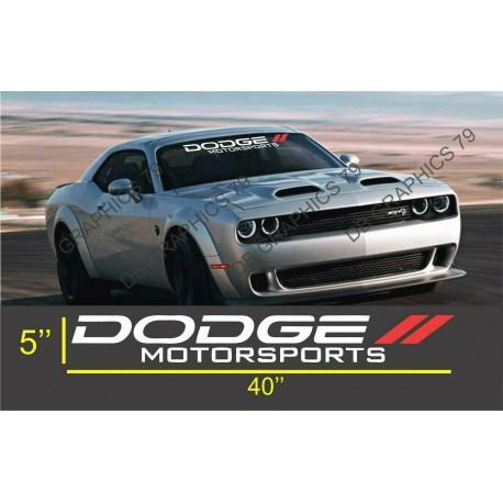 Dodge Motorsports Challenger Charger Side