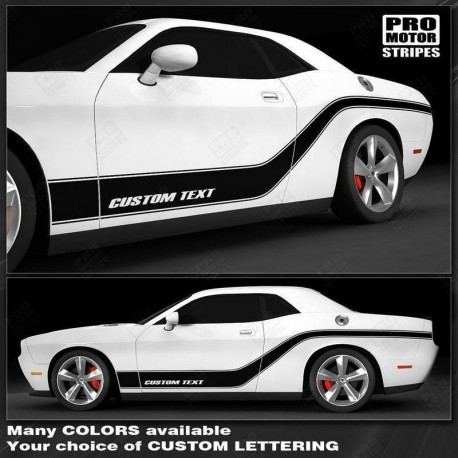 Dodge Charger decals for back lines forward