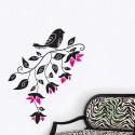 Tree bird cartoon