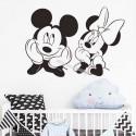 Mickey Minnie mouse wall sticker