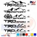 TRD SPORT Toyota Tundra Tacoma Decals