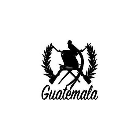 Guatemala decal, Quetzal shield 002