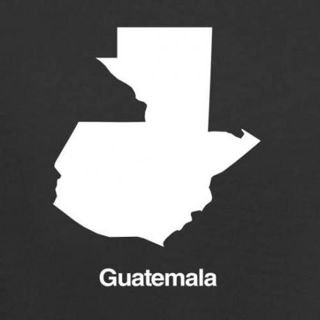 Guatemala Silhouette Guatemala sticker 00004