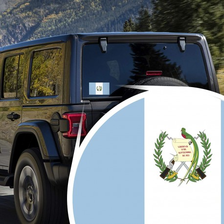 Guatemala Decal Guatemala FLAG 00006