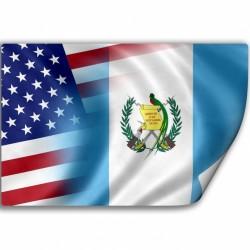 Guatemala Decal FLAG Guatemala USA 00008