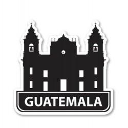 Guatemala Decal PALACIO MUNICIPAL 00009