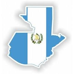 Guatemala Silhouette Guatemala sticker 000010