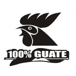 Guatemala Decal 100% Guate Gallo 000012
