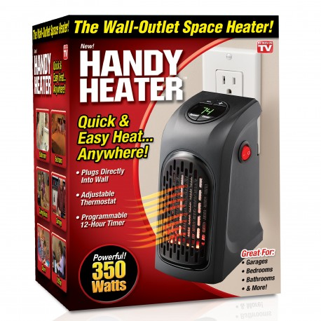 Handy Heater the Plug-In Personal Heater
