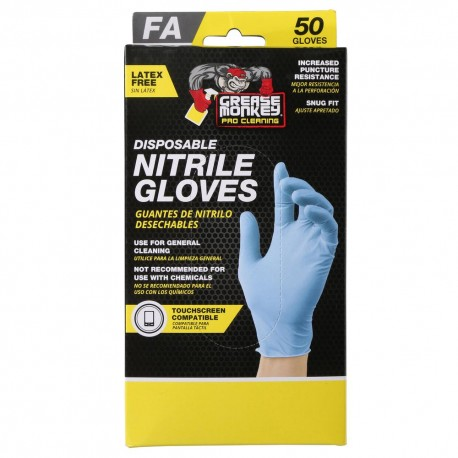 Grease Monkey Nitrile Fits-All Disposable Gloves (50-Count)