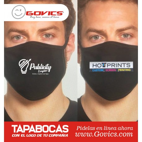 Masks with your company logo
