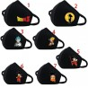 Fashion Dustproof Dragon Ball 3D Printed Masks