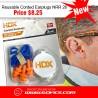 Reusable Corded Earplugs NRR 26