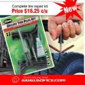 11 Piece Tire Repair Reamer Plug Kit Car Truck