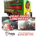 Wrap for all types of lunch boxes and vehicles