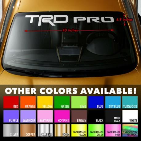 Windshield Toyota TRD PRO Tacoma Tundra 4Runner