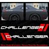 Pair x Challenger 2-layer vinyl sticker