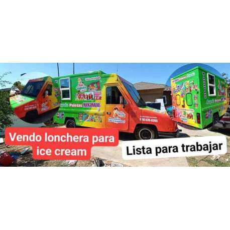 I sell food truck ready to work